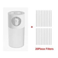 Diffuseur dhuile essentielle et darome ultrasonique Portable  20 pieces  humidificateur dair a Double buse 270ml USB  diffuseur de parfum de maison