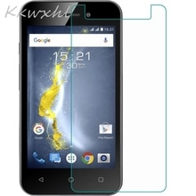 """Smartphone 9H Gehard Glas voor Fly 5S GLAS Beschermende Film OP Fly 5S 4.2 """"Screen Protector cover telefoon"""