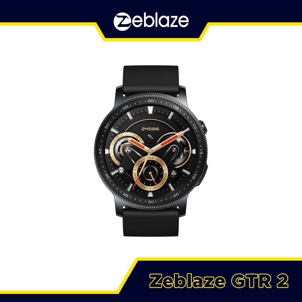 New 2021 Zeblaze GTR 2 Smart Watch Receive/Make Call Health&Fitness Monitor Long Battery Life Smartw