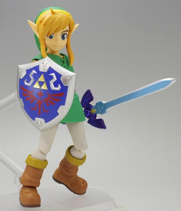 Anime Link un enlace entre el mundo Figma 284 PVC figura de acción juguete de modelos coleccionables