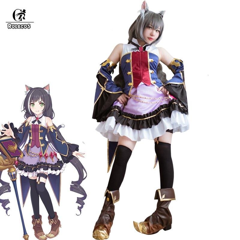 ROLECOS Anime princesa conectar Kiruya Cosplay traje juego Kiruya Momochi Anime Cosplay Lolita vestido de las mujeres ropa