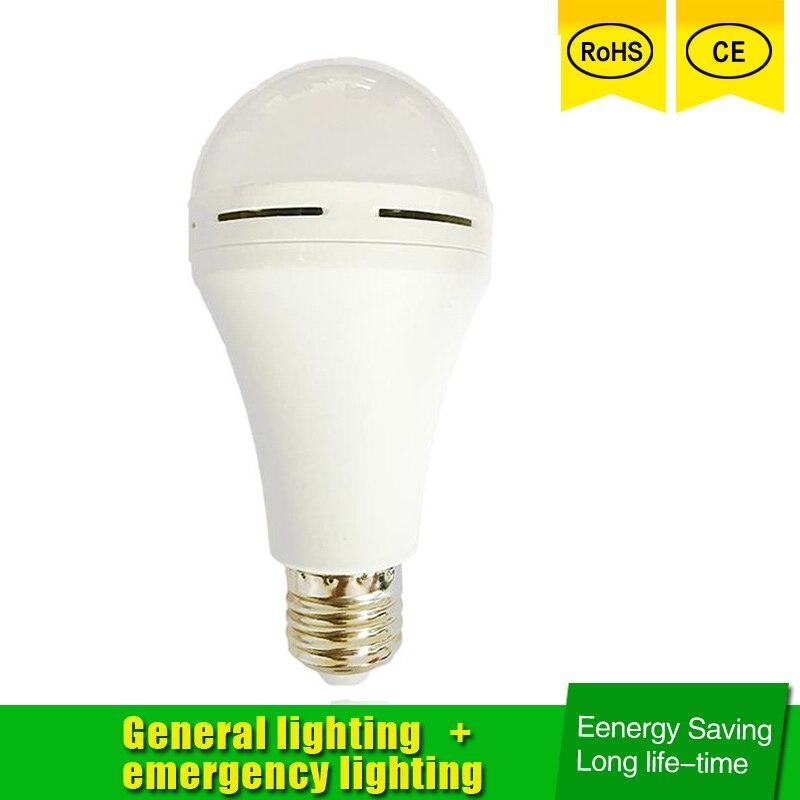Luz LED de emergencia recargable para el hogar, lámpara de emergencia con...
