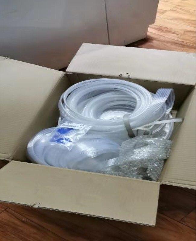 شحن مجاني جديد متوافق 3 قطعة/الوحدة ممسحة و 3 متر أنبوب لإبسون L3100 أجزاء الطابعة