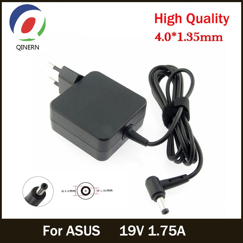 AliExpress - EU 19V 1.75A 33W 4.0*1.35mm AC Laptop Charger Power Adapter For ASUS ADP-33AW S200E X202E X201E Q200 S200L S220 X453M F453 X403M