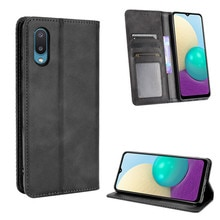 For Samsung Galaxy A02 Luxury Flip PU Leather Wallet Magnetic Adsorption Case For Samsung M02 A02 A