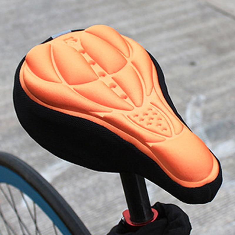 Funda de cojín para asiento de bicicleta, 3D, supertranspirable, accesorios y equipo para bicicleta de montaña