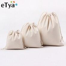 Travel Drawstring Cosmetic Bag Luggage Packing Organizer Storage Pouch Portable Makeup Drawstring Ca