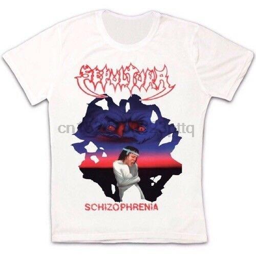 Sepultura Schizophrenia Soulfly Cavalera Conspiracy Retro Unisex T shirt 24