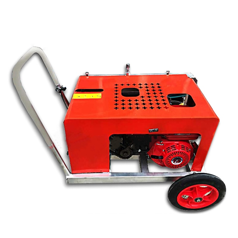 Gasoline Cable Pulling Machine Optical Cable Traction Machine Communication Optical Fiber Stringing Power Pipeline