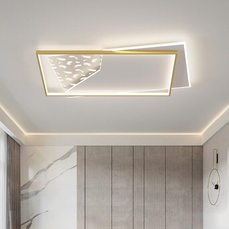 Lámpara De arañas LED moderna para interiores, iluminación para dormitorio, estudio, comedor,...