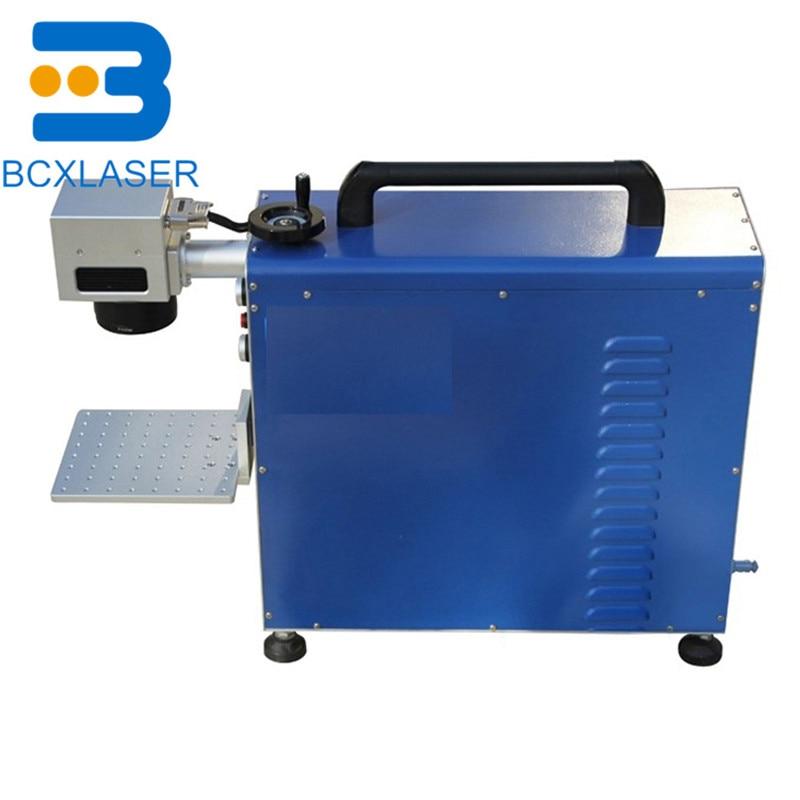 Small jewelry laser engraving machine 20w 30w 50w100w ring necklace bracelet fiber laser marking machine customization enlarge