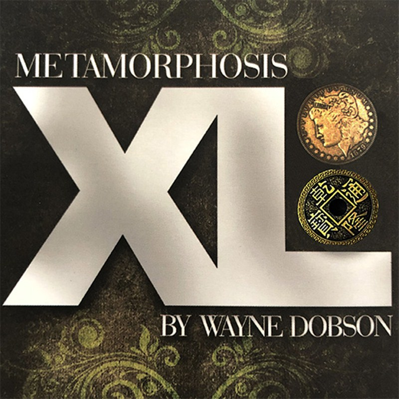 Metamorphosis XL de Wayne Dobson (Gimmicks e instrucciones en línea) Primer plano truco de magia calle magia ilusión diversión utilería para mago