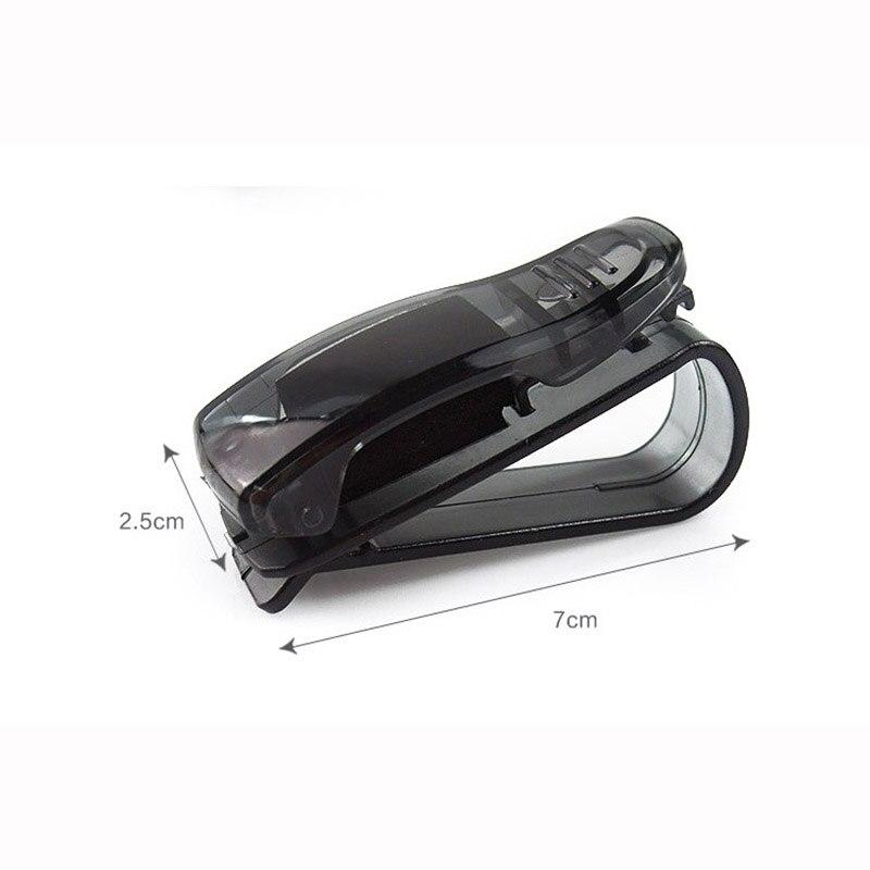 ABS Auto Glasses Sunglasses Clip car Accessories Stickers For Mercedes Benz GLA GLK X204 GL X164 ML W166 W251