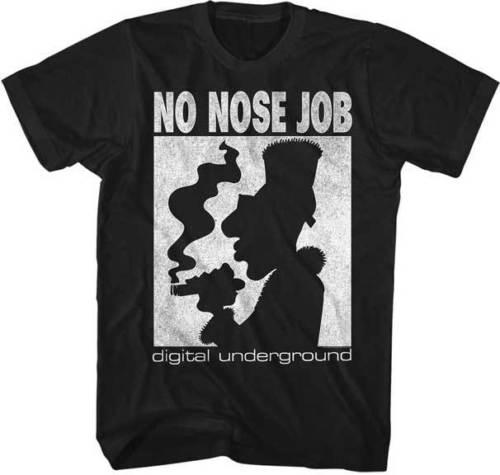 Digital Underground Smoking Blunt No Nose Job Adult T Shirt Music Hip Hop Music Design Style New Fashion Short Sleeve