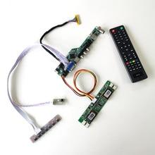 For LM220WE1-TLM1 LM220WE3-TLA1 LVDS 4CCFL 30Pin TV56 drive card board LCD panel keyboard+Remote+Inverter HDMI VGA USB AV RF kit