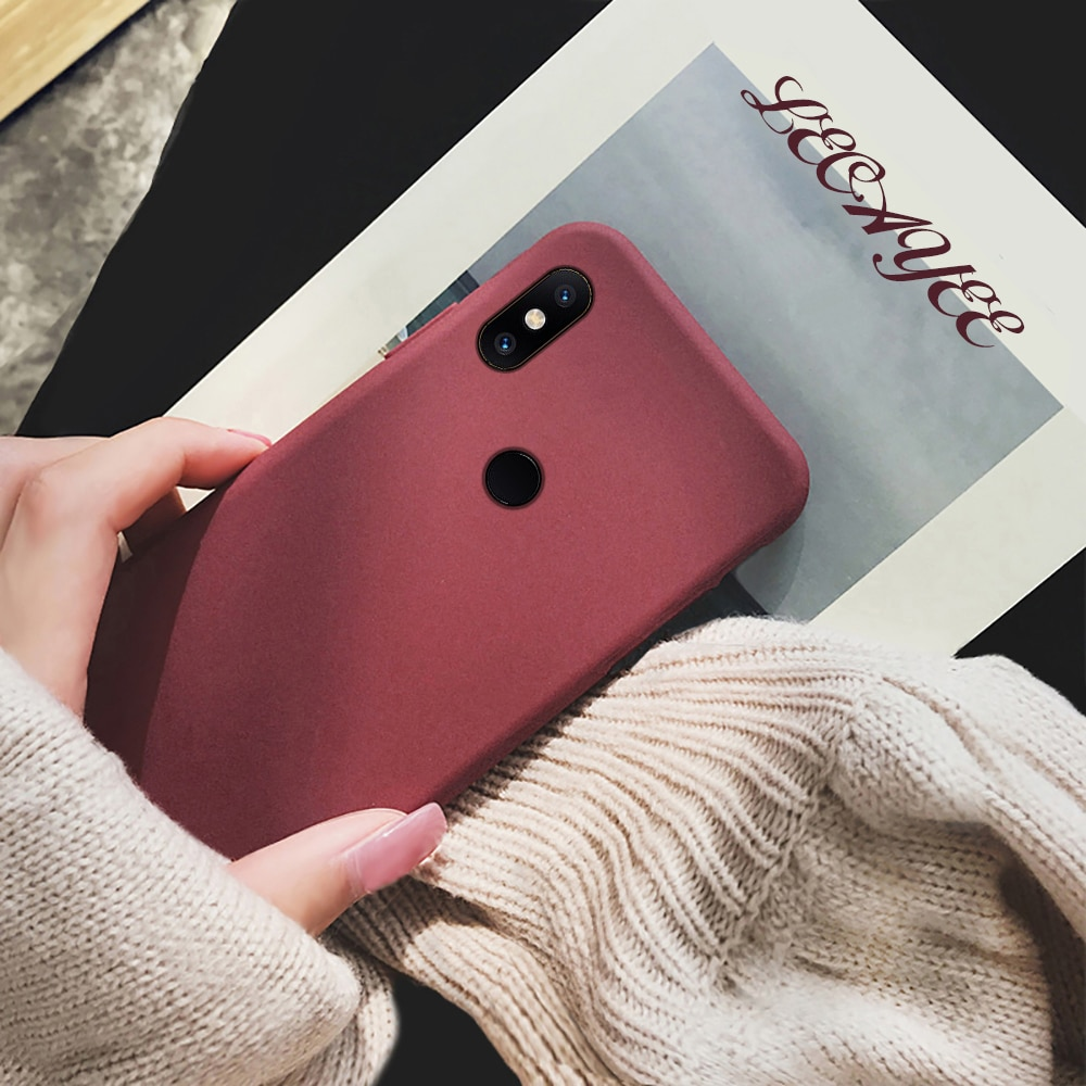 Soft Silicone Matte Phone Case for Xiaomi Note 3 Case for Redmi Note 8 6 7 5 4X Pro 7A 6A 5A Y3 Lite S2 Protective Case