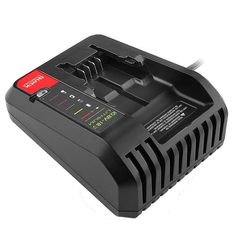 Para cargador negro decker cargador de batería de iones de litio Cable portero Stanley 10,8 V 14,4 V 18V 20V PCC690L L2AFC FMC690L FMC688L 686L B & D