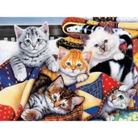 100 full 5d diy daimond painting cross switch lovely cats 3d diamond painting full squareround rhinestones painting embroidery