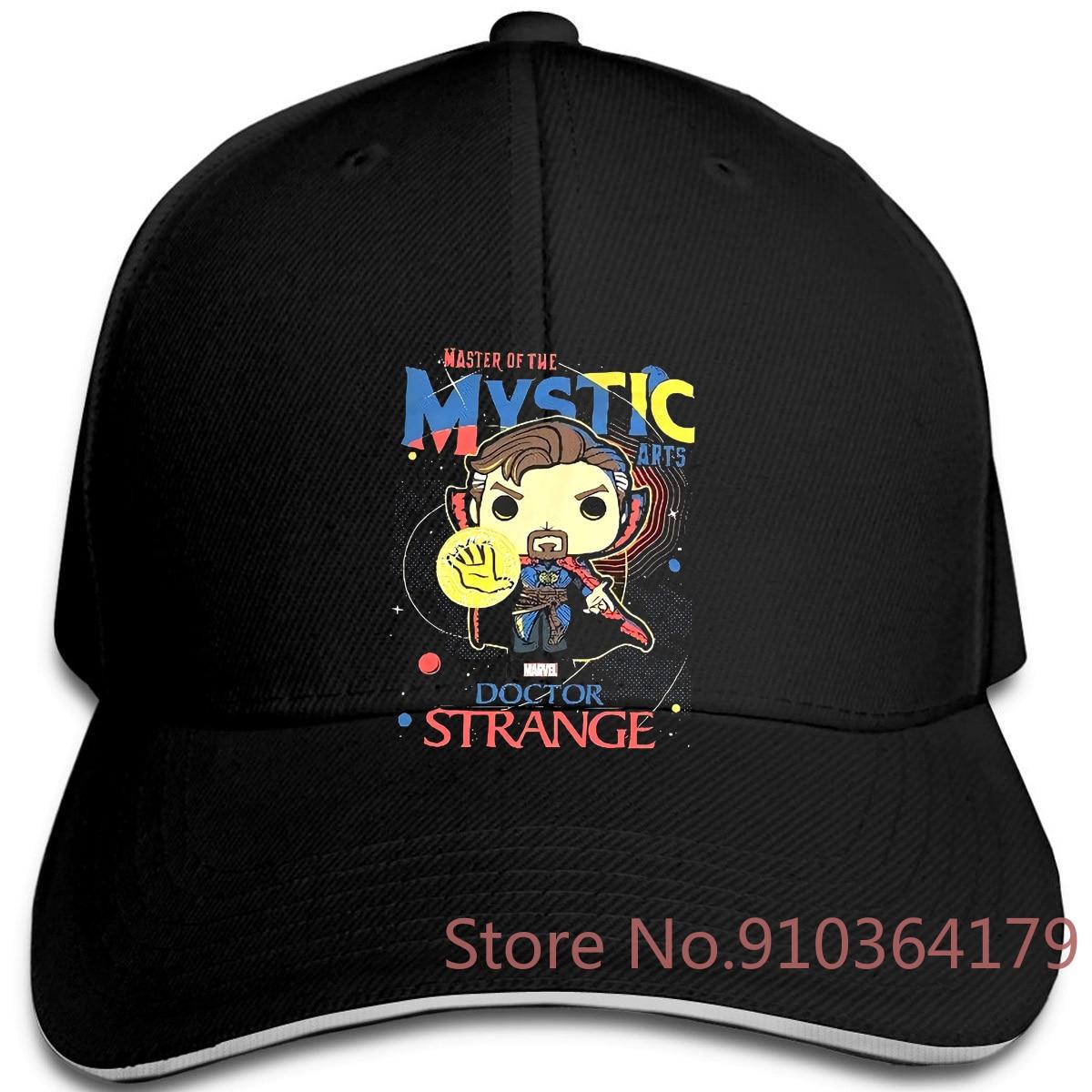 Dr Strange Funko Pop Marvel Master Mystic Arts NWOT gorras ajustables gorra de béisbol hombres mujeres