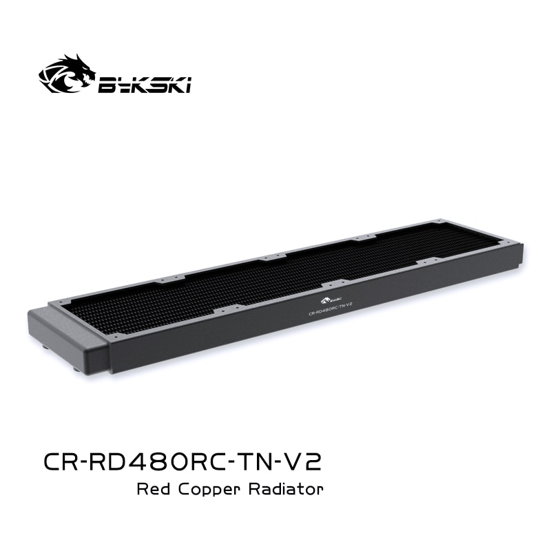 Refrigerador de Água Linha para 120m Bykski Refrigerar 4 Cobre 480mm Radiador 12cm Ventilador 30mm Grosso Cr-rd480rc-tn-v2 pc g1 –