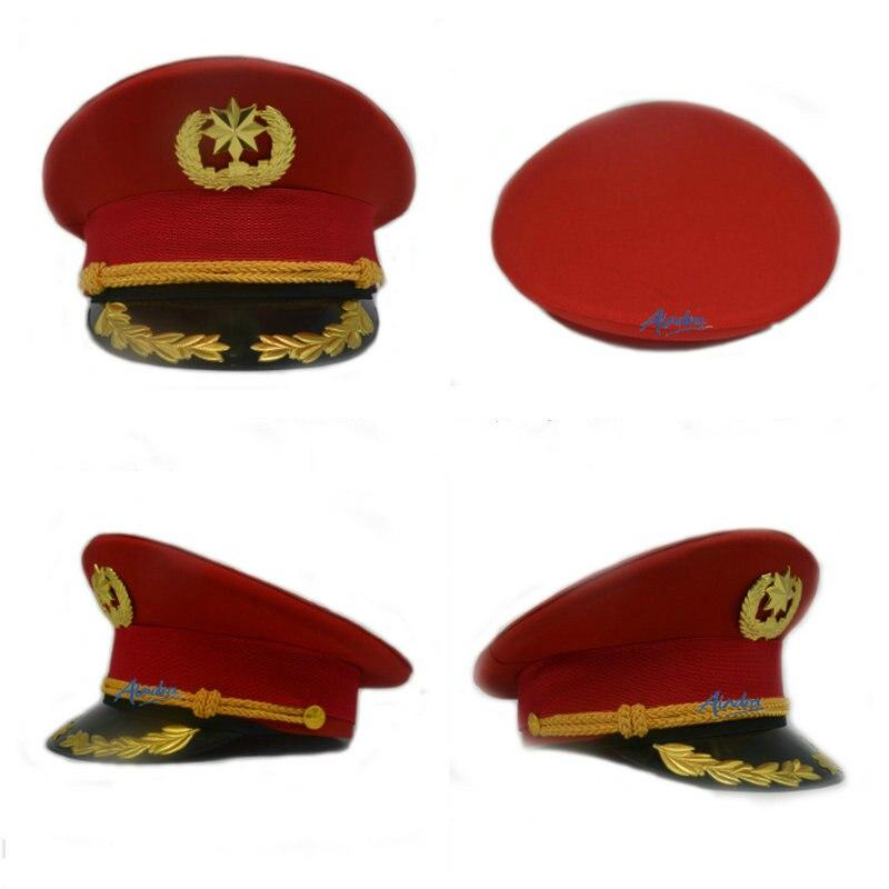 الأمن الأحمر قبعة كبيرة هدية الفرقة الكبار قبعة كبيرة الفرقة الحمراء امرأة قبعة حمراء أنيق قبعة المرأة قبعة بحافة واسعة 2020