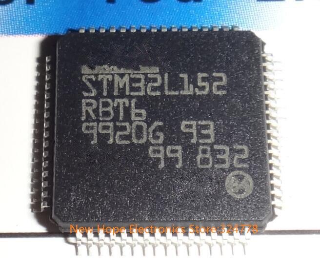 Microcontrolador STM32L152RBT6 STM32L152 LQFP64 nueva buena calidad