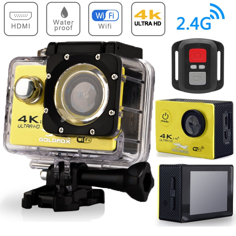H9R Action Camera Ultra HD 4K WiFi Remote Control Sports Video Recording Camera Underwater Waterproof 170Wide Angle Mini Camera enlarge