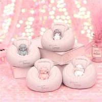 new year gift pig figure money box cute resin bunny piggy bank figurine table ornament lovely sofa animal decoration