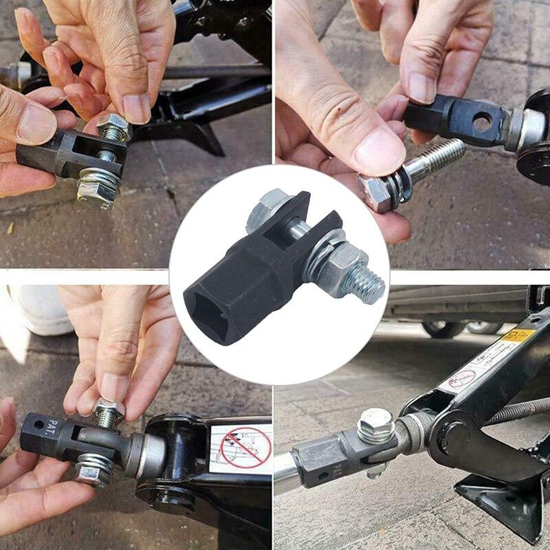 Автомобильный подъемник, подставка с резиновыми прорезью, переходник для пола, аксессуары для ремонта автомобиля