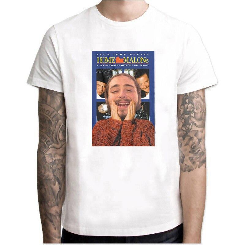 Home Post Malone, camiseta nueva, Tumblr Stoney, hip hop, Lil Peep, Drake, Kanye, camiseta de dibujos animados, camiseta de Rap para hombres