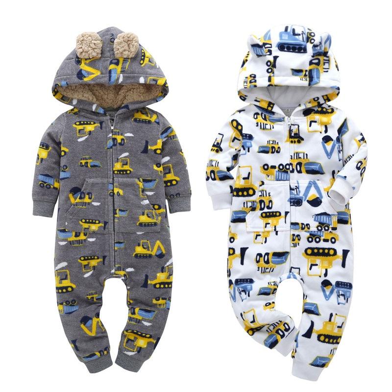 Новинка 2021, детские комбинезоны, одежда, зимняя одежда для мальчиков и девочек, утепленная и удобная хлопковая детская одежда, Детский костюм|Ромперы| | АлиЭкспресс
