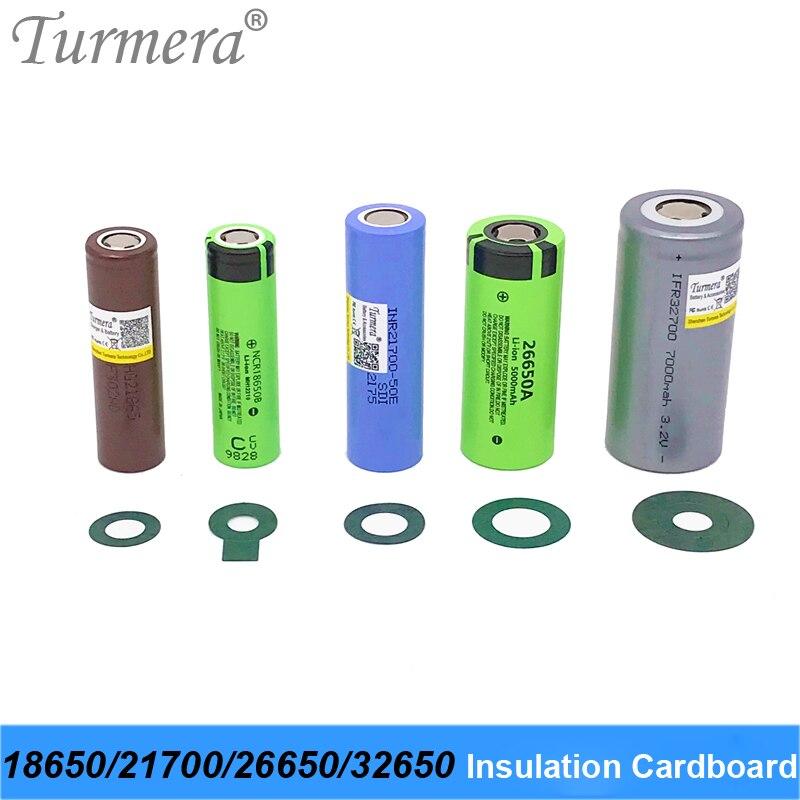 Turmera 18650 Batterie Isolator Isolierung Ring Klebstoff Karton Papier für 18650 21700 26650 32700 Lifepo4 Batterie Pack Verwenden M2