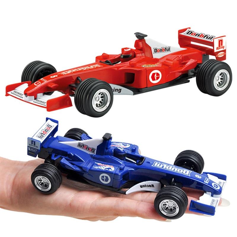 Alloy Racing Car Rock Crawlers Mini Pull Back Car Vehicle Boys Toy Children birthday Gifts