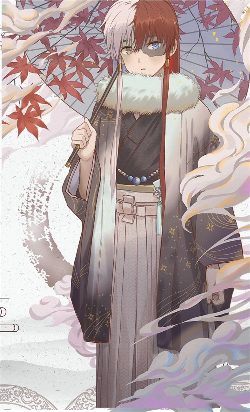 زي تنكري My Hero Academia Todoroki Shoto kimono