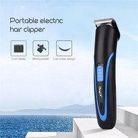 Portable Hair Clipper Electric Cordless Mini Hair Trimmer Professional Beard Shaver Razor Trimer Shaving Machine Hair Trimmer