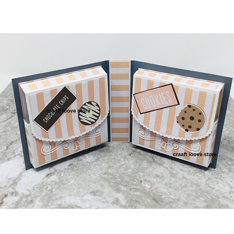 2019 memoria dex Rolodex troquelado Stock caja Scrapbooking álbum de recortes tarjeta haciendo sello