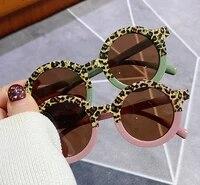 fashion retro round kids sunglasses brand designer children sunglasses boys girls baby outdoors goggle shades eyewear