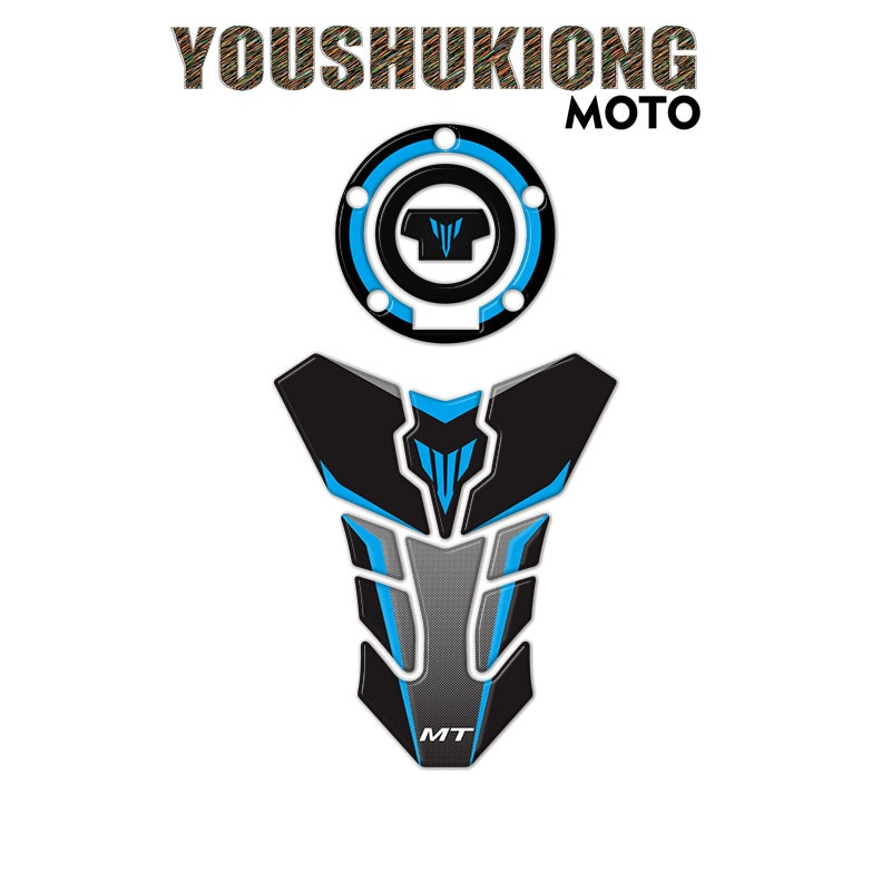 Motorcycle Sticker High Quality Fuel Tank Reflective Stickers Protective Stickers for MT-07 MT 07 MT-09 MT 09