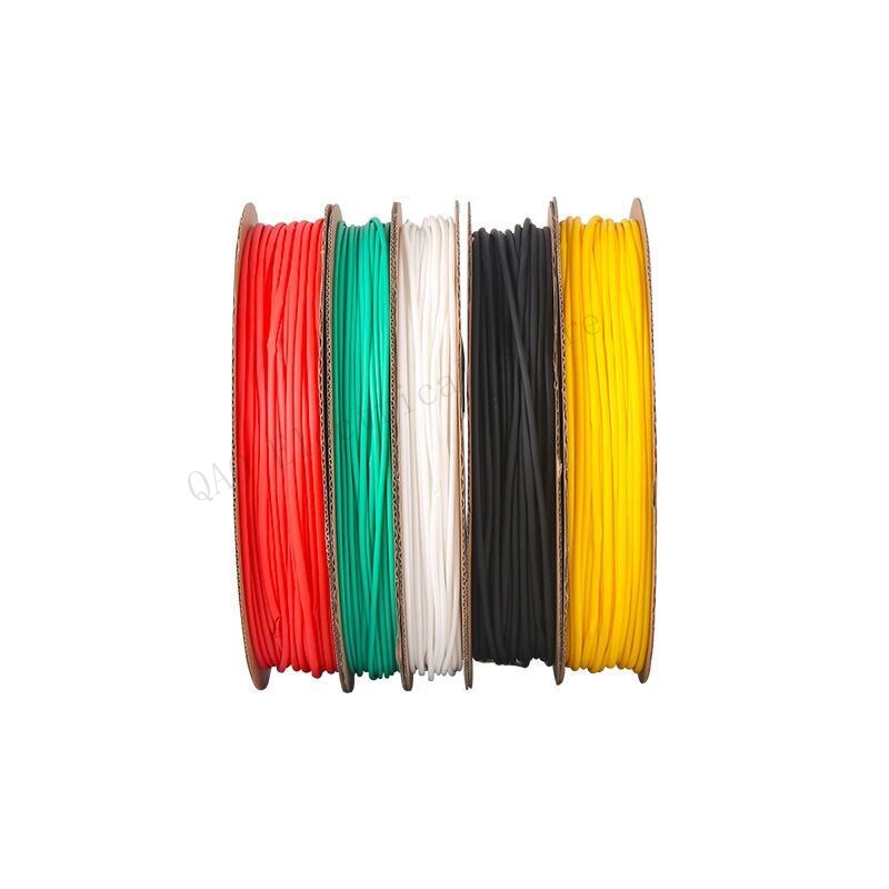 6mm 100meter/lot 7 Colors Cable Sleeve Shrinkage Ratio 2:1 Shrink Wrap Shrink Tube Heat Shrink Tubing Tube Heat Shrink Tubing