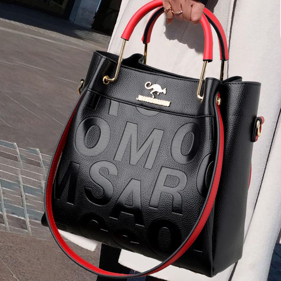 Luxury Handbags Women Bags Designer High quality Letter Pu Leather Ladies Crossbody Bags for Women 2021 Shoulder Messenger Bag