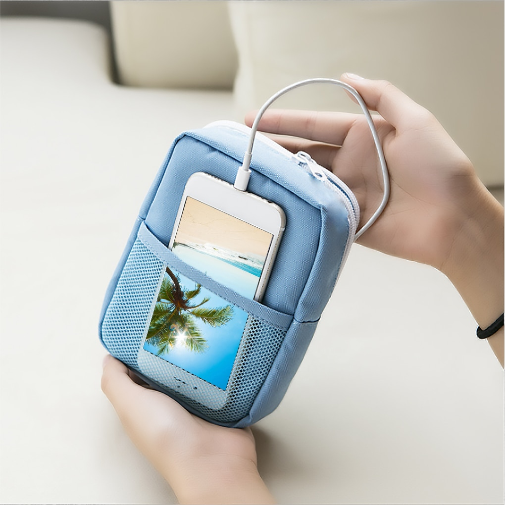 Travel Gadget Organizer Bag Portable digital cable bag Electronics Accessories Storage Carrying Case