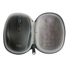 Fashion Portable Protective Hard Shell Bag Cover Case for Logitech MX Anywhere 2S Mouse Portable Sto