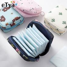 Cute Mini Women Cosmetic Bag Cactus Travel Toiletry Storage Bag Beauty Makeup Bags Cosmetics Organiz