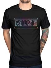 Camiseta oficial con Logo de Muse la 2nd Ley, títulos de canciones, banda de Metal duro, nuevo diseño de Camiseta de algodón para hombre, diseño (1)