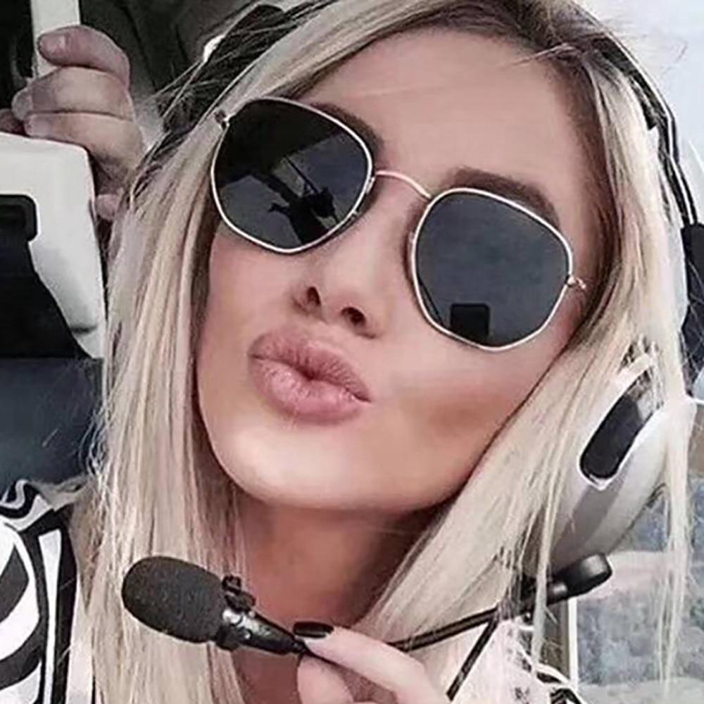 2022 Metal Classic Vintage Women Sunglasses Luxury Brand Design Glasses Female Driving Eyewear Oculo