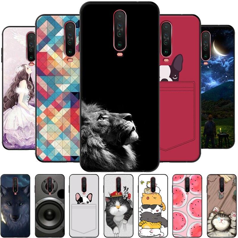 Para Xiaomi Redmi K30 suave funda de silicona TPU funda de moda para Xiaomi Redmi K30 Pro 5G funda trasera para teléfono Redmi K30 k 30 Coque