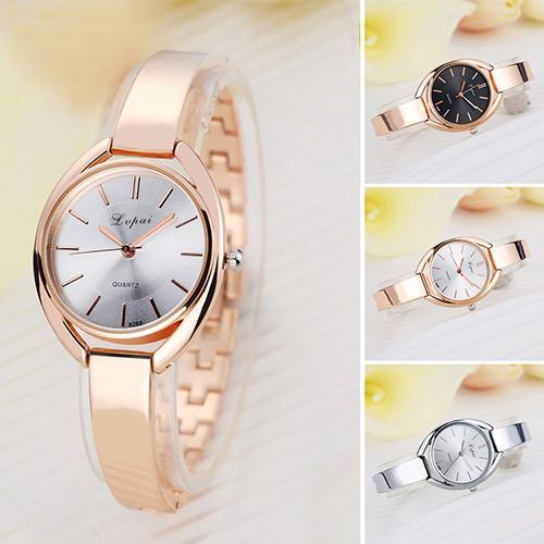 Women's Fashion Luxury Casual Jewelry Analog Slim Band Quartz Wrist Watch ladies watch horloges vrouwen Ladies Dress Watches Gif