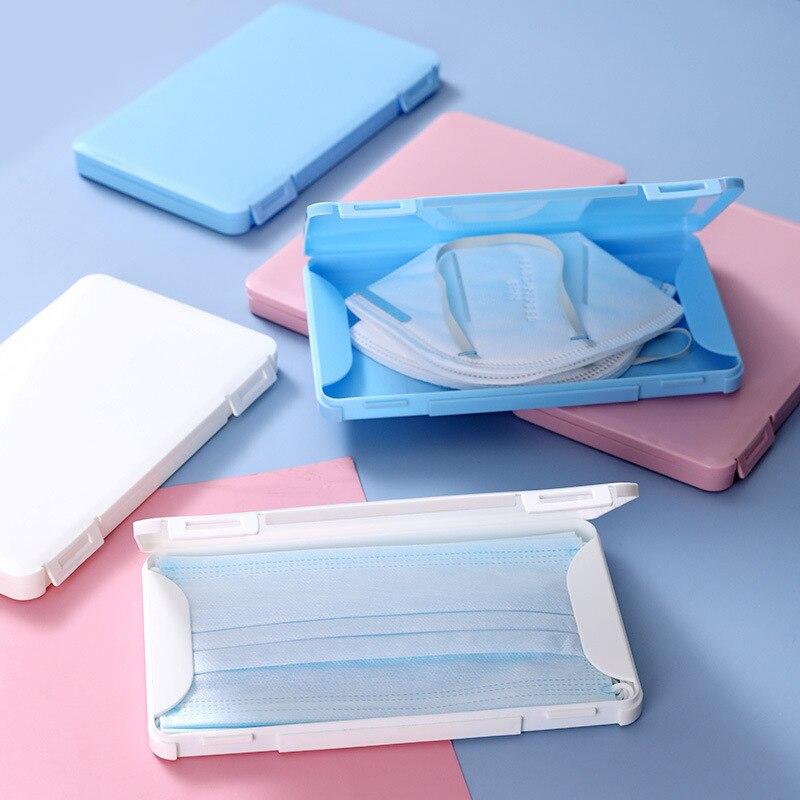 Tragbare Maske Fall Haushalt Feuchtigkeit-beweis Maske Box gehen Staubdicht Lagerung Maske Container Veranstalter Halter