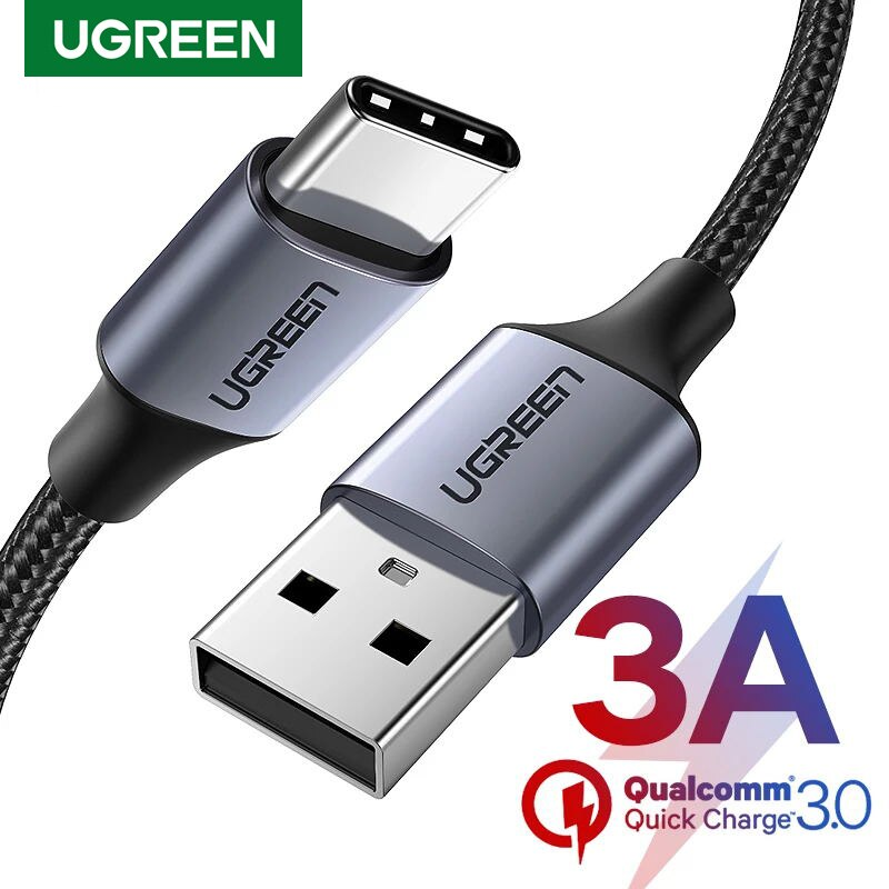 Ugreen-Cable USB tipo C de 3A para móvil, Cable de datos de...