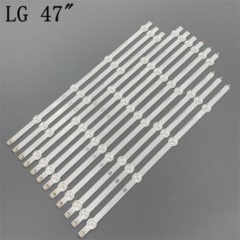 Marque Nouvelle LED rétro-éclairage Pour LG 47 pouces 47LA615S 47LA615V 47LA620S 47LA620V 47LA621S 47LA621V 47LA616V 47LN5707 47LN5708 47LN570R